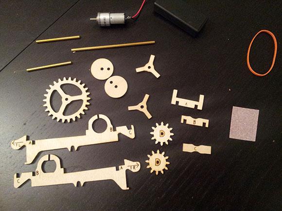 Kinetic Creatures Motor Kit 2