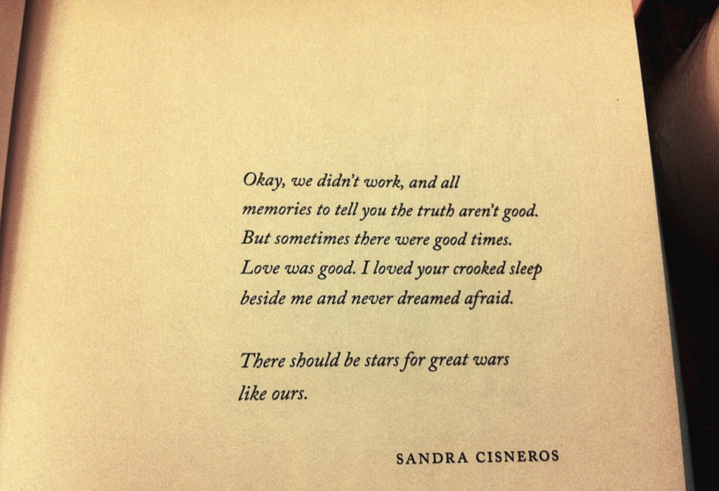 epigraph from This Is How You Lose Her